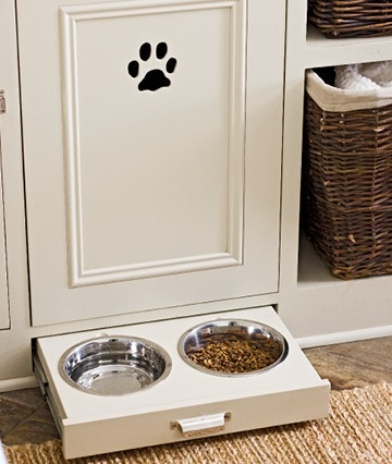 Built-in Dog Dish